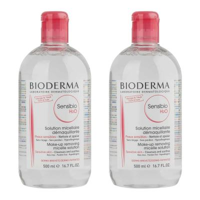 Bioderma Sensibio H2O 500ml İkiz Set