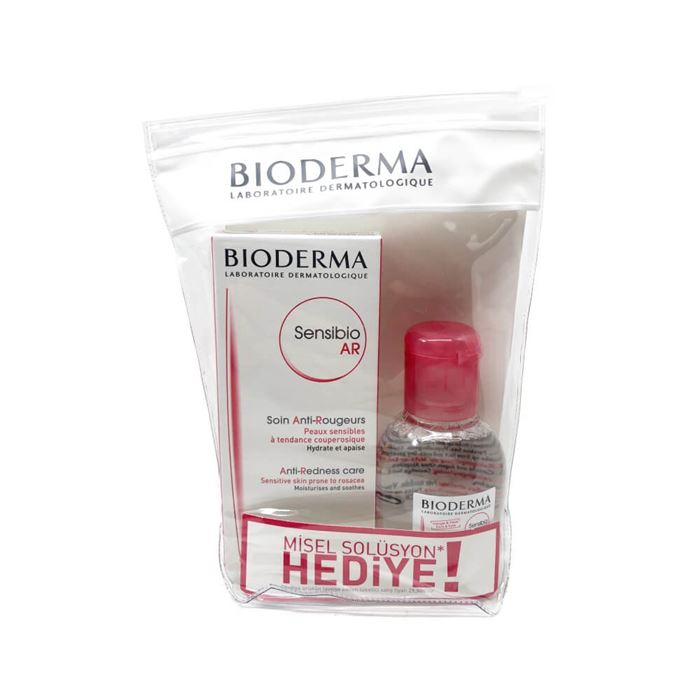 Bioderma Sensibio AR Cream 40ml + Sensibio H2O 100ml Set