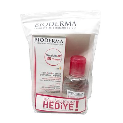 Bioderma Sensibio AR BB Cream 40ml + Sensibio H2O 100ml Set
