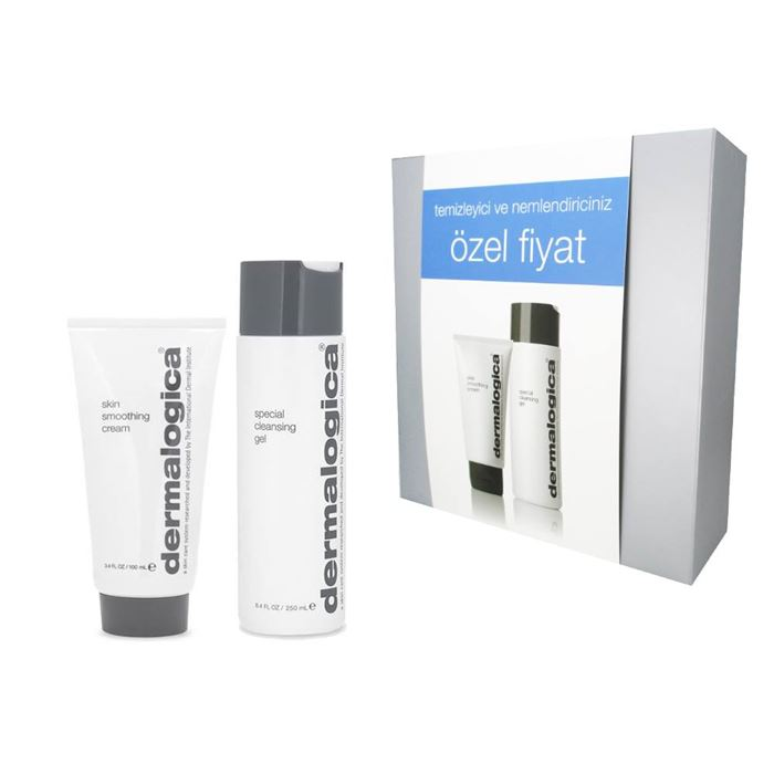 Dermalogica Skin Smoothing Cream 100ml + Special Cleansing Gel 250ml Set