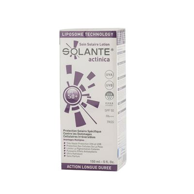 Solante Actinica Sun Care Lotion SPF50+ 150ml