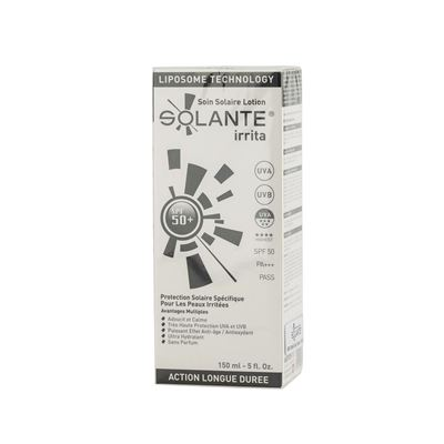Solante Irrita Sun Care Lotion SPF50+ 150ml