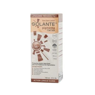 Solante Pigmenta Tinted Sun Care Lotion SPF50+ 150ml
