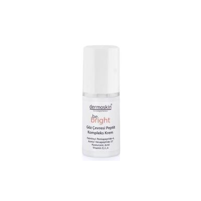 Dermoskin Be Bright Eye Peptide Complex Cream 15ml