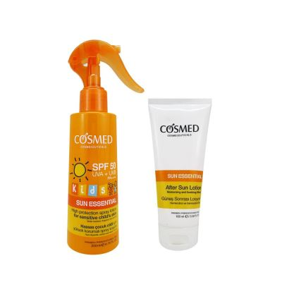 Cosmed Sun Essential Kids SPF50 Spray Lotion 200ml Set