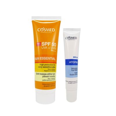 Cosmed Sun Essential SPF50 Very Sensitive Skin Cream 50ml Set