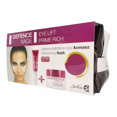 BioNike Defence Xage Eye Lift + Prime Rich Set