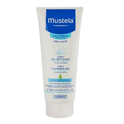 Mustela 2 in 1 Hair  Body Wash 200ml