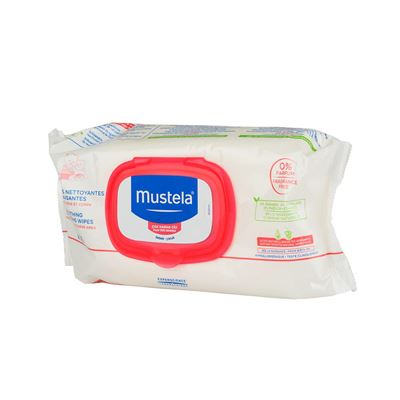 Mustela Soothing Cleansing Wipes 70 Adet