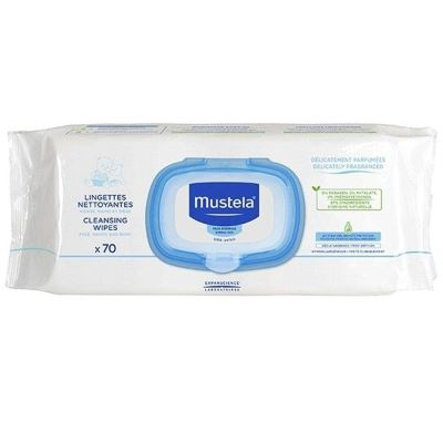 Mustela Cleansing Wipes 70 Adet