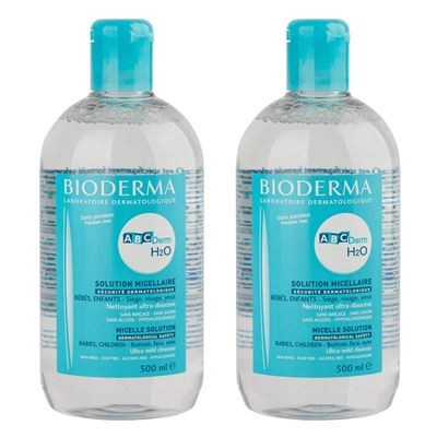 ABCDerm H2O 2x500ml İkiz Set