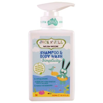 Jack and Jill Shampoo Simplicity 300ml