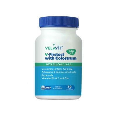Velavit V-Firstect With Colostrum 30 Kapsül