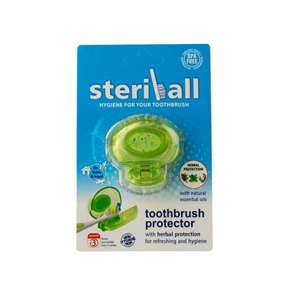 Steriball Toothbrush Protector Green