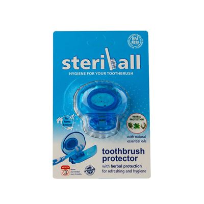 Steriball Toothbrush Protector Blue
