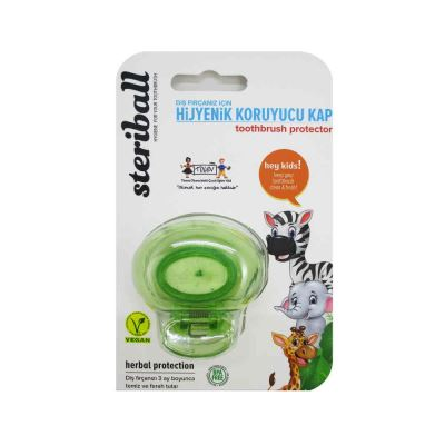 Steriball Toothbrush Protector Kids Green