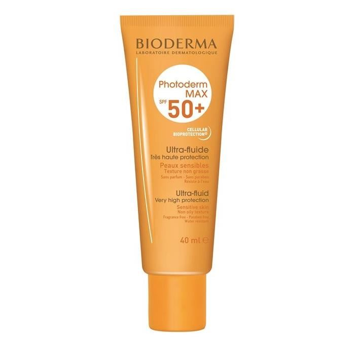 Bioderma Photoderm Max Ultra Fluide SPF 50+ (Renksiz) 40 ml