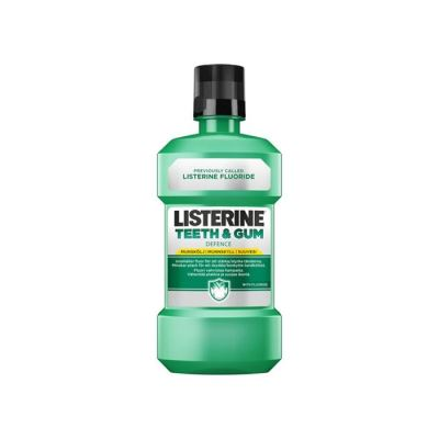 Listerine Teeth and Gum Florürlü Ferah Nane 500ml
