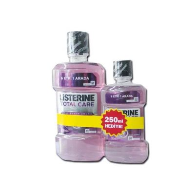 Listerine Total Care 6 Etkili 500ml Hediyeli 250ml